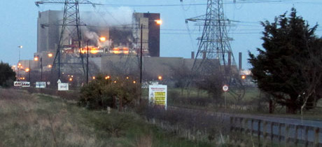 Hartlepool nuclear power plant fire triggers emergency response