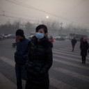 Chinese Defy Pollution, a Stubborn Visitor