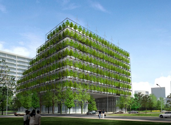 Green Architecture How Low Can A Low Carbon Building Go