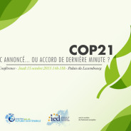 Conferenza – COP21: failure or success?